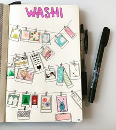 Washi tapes collecti