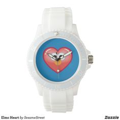 Shop Elmo Heart Watch created by SesameStreet. Presents For Kids, Fun Gifts, Elmo, Michael Kors Watch, Quartz, Watches, Street, Accessories, Black