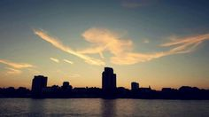 Magic Clouds #Sunset #Rhine #Cologne #CGN #Rhinepark #Köln...