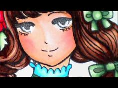 Coloring Faces with Copic Markers