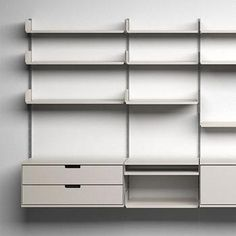 Vitsoe - 606 Universal Shelving System by Dieter Rams