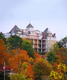 "Crescent Hotel    Eureka Springs, Arkansas  Crescent-Hotel.com    Sitting on top of Crescent Mountain, the treasured and breathtaking ""Queen of the Ozarks"" operates as a hotel and spa. Check in for a weekend stay and you might encounter some of the guests who decided to never check out. Reserve a spot on the Ghost Tour and learn about the legendary haunts that continue to spook the historic landmark.  Next: Myrtles Plantation"