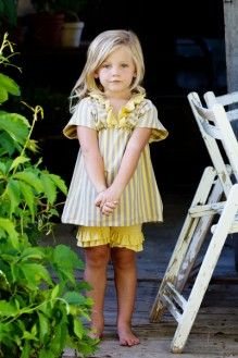 Yellow sunny tunic by Persnickety Clothing