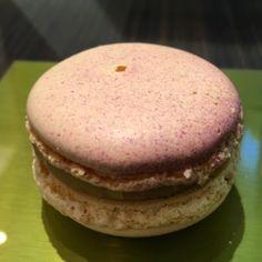 Té verde y violeta! i❤️#macarons