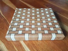 Basket Weave End Grain Cutting Board