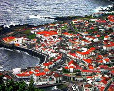 Sao Jorge Island, Azores, Portugal Out To Sea, Atlantic Ocean, Oh The Places You'll Go, Best Hotels, Trip Planning, The Good Place, Islands, Roots, City Photo