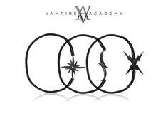 "janet cadsawan jewelry + design: ""Celebrating #FieryHeart with new #VampireAcademy Tattoo Mark Bracelets $17 one size http://bit.ly/Yq8Yb4"