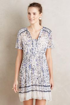 Seraphina Floral Swing Dress
