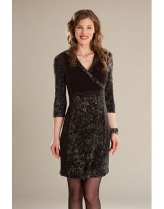 Robe/Dress Sambuca - KARKASS fashion designer. Mode québécoise / Made in Quebec