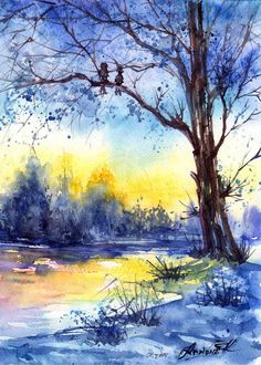 Watercolors by Anna Armona