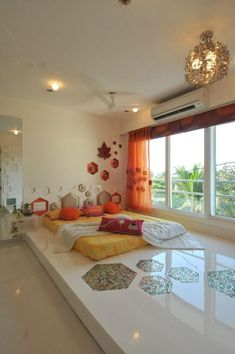 Master Bedrooms Guest Bedrooms Interior Design by Sonali Shah #UrbanClapHomes #UrbanClapRooms #spacious #colourful #different #unique