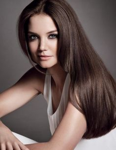 Gorgeous Katie Holmes is the new face of Alterna Haircare range!