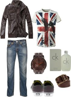 """basic men style"" by catia-rodrigues on Polyvore"