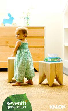 Nursery inspiration from Seventh Generation and Kalon Studios