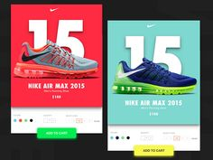 Nike Cards designed by Jaslin Tonton. Connect with them on Dribbble; Ad Design, Print Design, Flyer Design, User Interface Design, Interface App, Nike Ad, Ad Layout, Commercial Ads, Mobile App Design