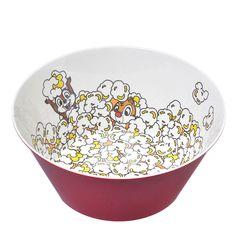 "Chip & Dale ""Super Market"" Popcorn Bowl ~ Disney Store Japan"