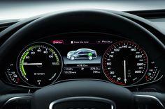 Audi A6 - NewsAutorev By L E Tron Concept SpeedoMeter Digital