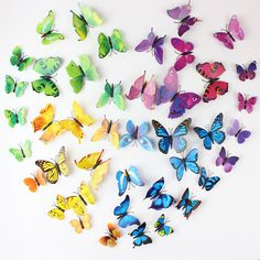 12PCS-SET-PVC-3D-Butterfly-Wall-Sticker-Wall-Art-Removable-Home-Decoration-DIY-Crafts-Stcikers-Home.jpg (800×800)
