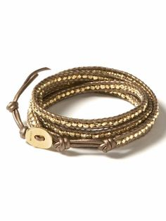 chan luu gold vermeil bracelet for Banana Republic