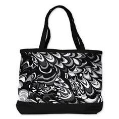 Abstract Marbling texture Shoulder Bag