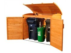 Leisure Seasons | Garbage Can Storage Shed RSS2001 | On Sale