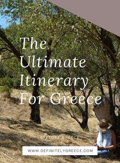 -Are you planning to go to Greece?  -Definitely!...... Definitelygreece.com  #trips #travel #holidays #greece