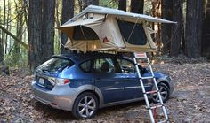 Three Rooftop Tents for Summer Adventures - Katelynn Sheppard - Photo Kayak Camping, Camping Glamping, Camping Stove, Camping Life, Outdoor Camping, Camping Hacks, Tepui Tent, Truck Tent, Camping Shelters