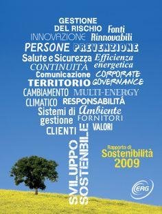 Erg, Rapporto sostenibilità, 2009