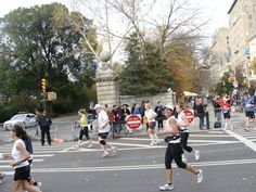 New York City Marathon 2011 - Mile 23 I remember the thrill of making the turn into Central Park!  :-)