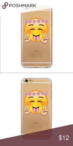 EMOJI GIRL iPhone 6/6s  Plus Case Accessorize your phone with this adorable emoji girl. Brand new iPhone soft silicone (TPU) case. Will fit iPhone 6/6s. PRICE IS FIRM. iPhone Accessories Phone Cases