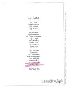 Quinty Trustfull (Presentator, Ambassadeur Stichting Pink Ribbon). Gedicht uit: 'De dode dichters almanak' van Hans Keller | Aandachtmagazine.nl