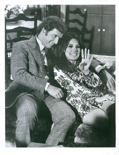 Vintage 1968 Marlo Thomas In Mod Dress & Ted Bessell In THAT GIRL ABC-TV Photo