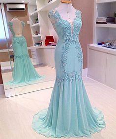 sweetheart prom dresses, long prom dresses, one-shoulder dresses, sexy party dresses, cheap dresses.elegant homecoming dresses, fancy homecoming dresses,Blue Lace Prom Dresses Evening Dresses Bridesmaid Dresses