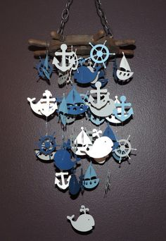 Hey, I found this really awesome Etsy listing at https://www.etsy.com/listing/182784015/wood-top-sailing-mobile-nautical-mobile