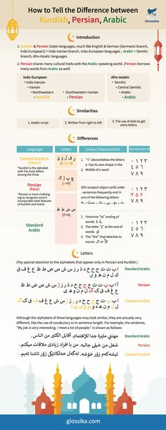 How to Tell the Difference Between Kurdish Persian and Arabic Letters In Arabic, Write Arabic, Arabic Alphabet, Arabic Words, Persian Language, Arabic Language, Arabic To English Translation, Learn Farsi, Learn Persian