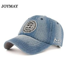 Joymay New arrival high quality snapback cap demin baseball cap 5 color  Jean badge embroidery hat 2cf7bb38c5a