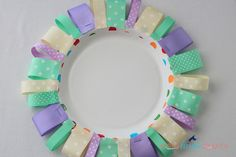 20 Minute Tuesday | Ribbon Plate Charger