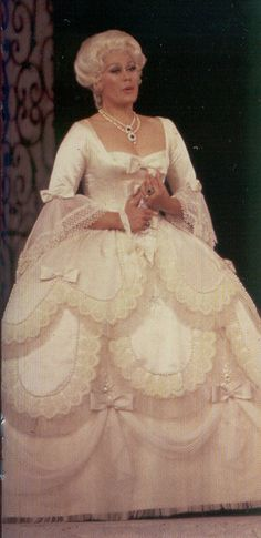 Soprano Kiri Te Kanawa in Costume