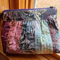 Batik Pouch | Craftsy