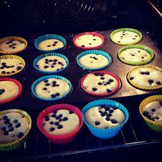 Babeczki jogurtowe / Yoghurt cupcakes with berries