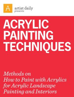 From slide 10, see a step-by-step breakdown of one artist's method of layering with acrylic, then move forward to see a variety of acrylic styles and gain insight into the artists and their choices.