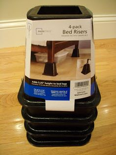 Sew Many Ways...: Tool Time Tuesday...Table Risers
