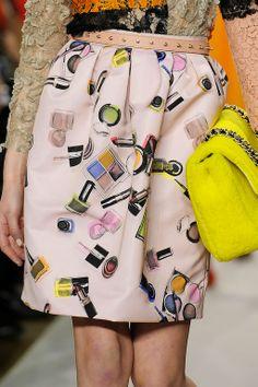 Moschino Cheap & Chic, skirt details