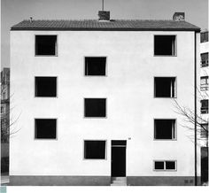 OSWALD MATHIAS UNGERS - MEHRFAMILIENHAUS HÜLTZSTRASSE, KÖLN  1951