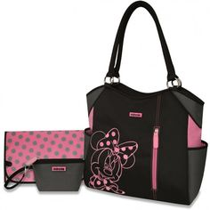 baby outfit popular baby diaper bags minnie mouse baby diaper bag set in black - Baby Diaper Bags