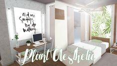 Bloxburg Plant Aest House Inside Cute Bedroom Decor