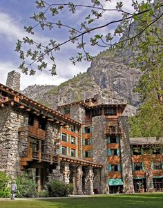 The Ahwahnee Lodge, Yosemite.  How I wish I could be there again :). Can't believe I was lucky enough to be married in this beautiful National Park!