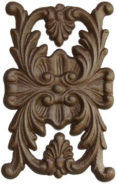 """Birch Appliques ~ Curled Center w// Branches ~ REAL WOOD { 6/"""" X 2 3//8/""""} ~ by  PLD"""