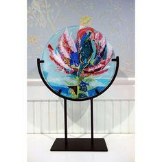 Cleome Flower Art Glass Sculpture by Bgartman on Etsy, $295.00