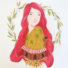 Shop Girl on Behance by Laura Bernard